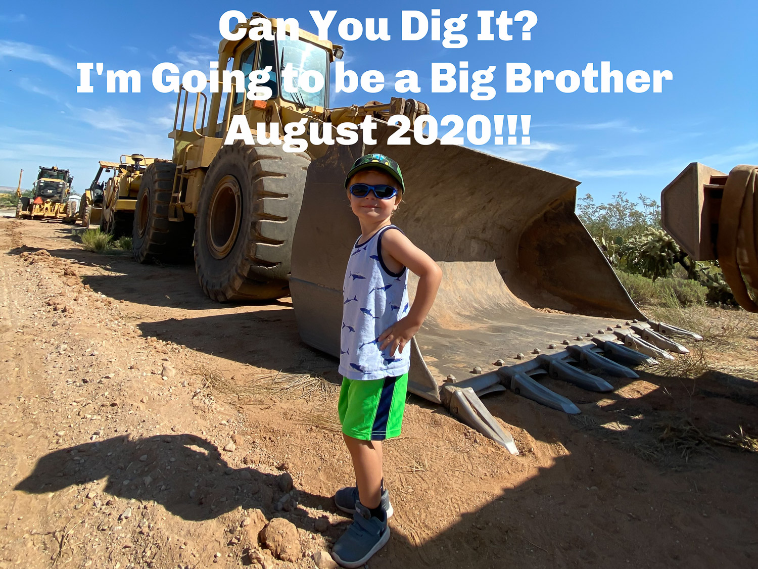 Excavator Big Brother Announcement