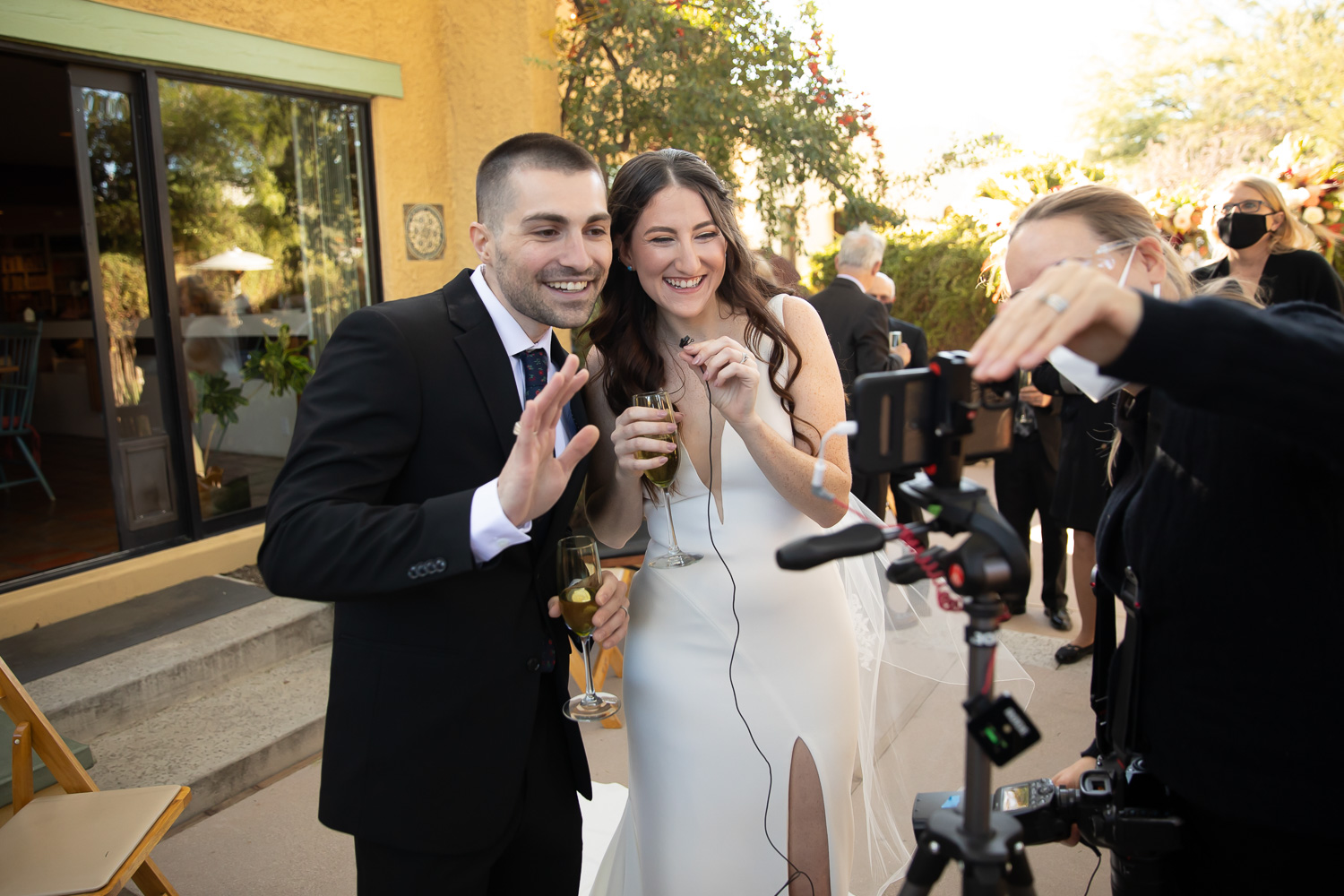 live streaming wedding in Tucson Arizona